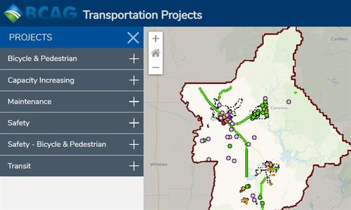 Transportation Project Map